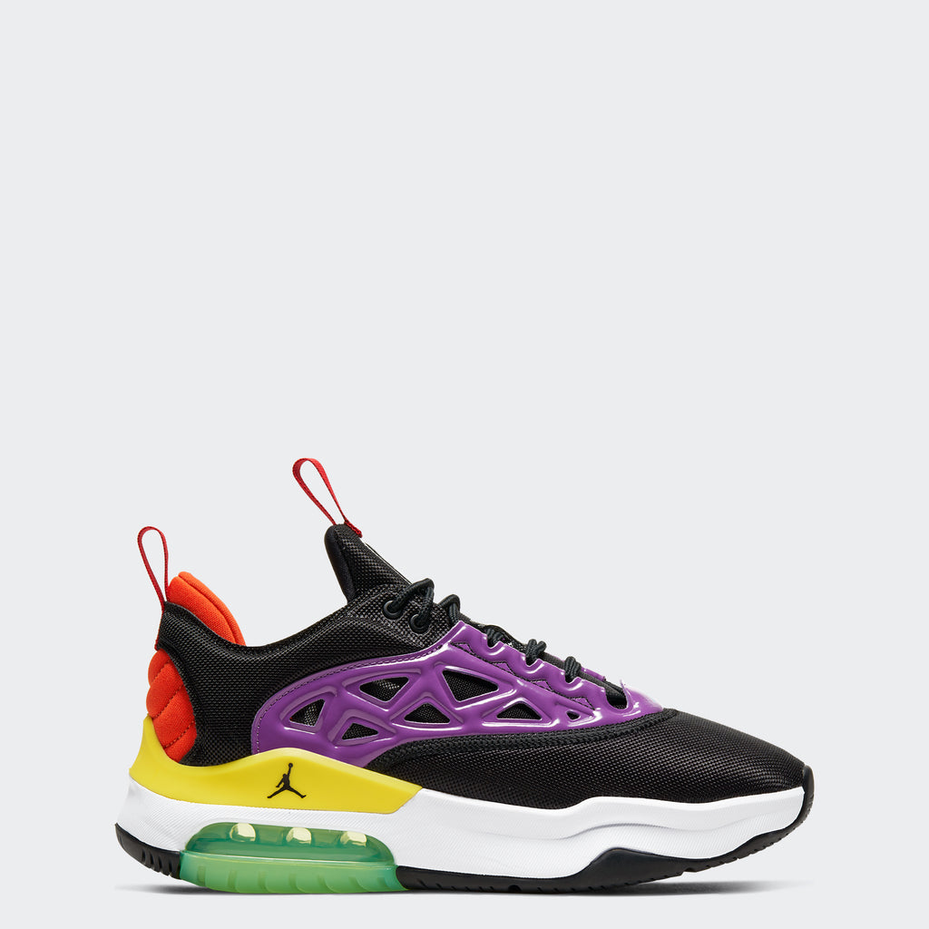 Women's Jordan Air Max 200 XX Black Multicolor (AV5186-004) | Chicago City Sports | side view