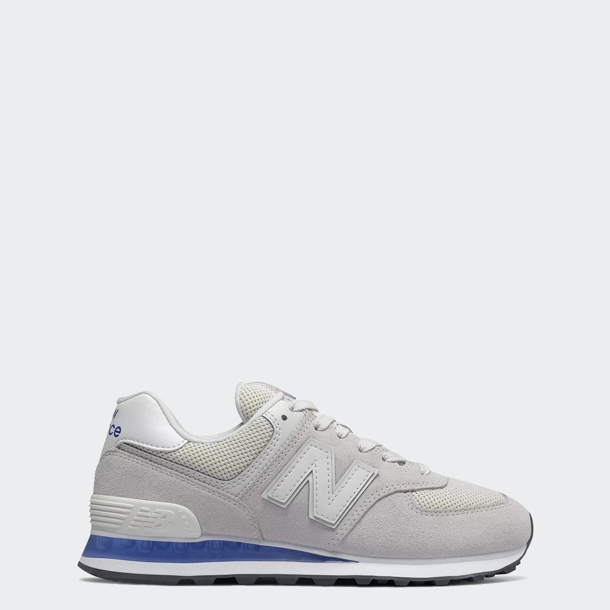 online store 73f71 57efd Women's New Balance 574 Shoes White UV Blue - 5 / WHITE