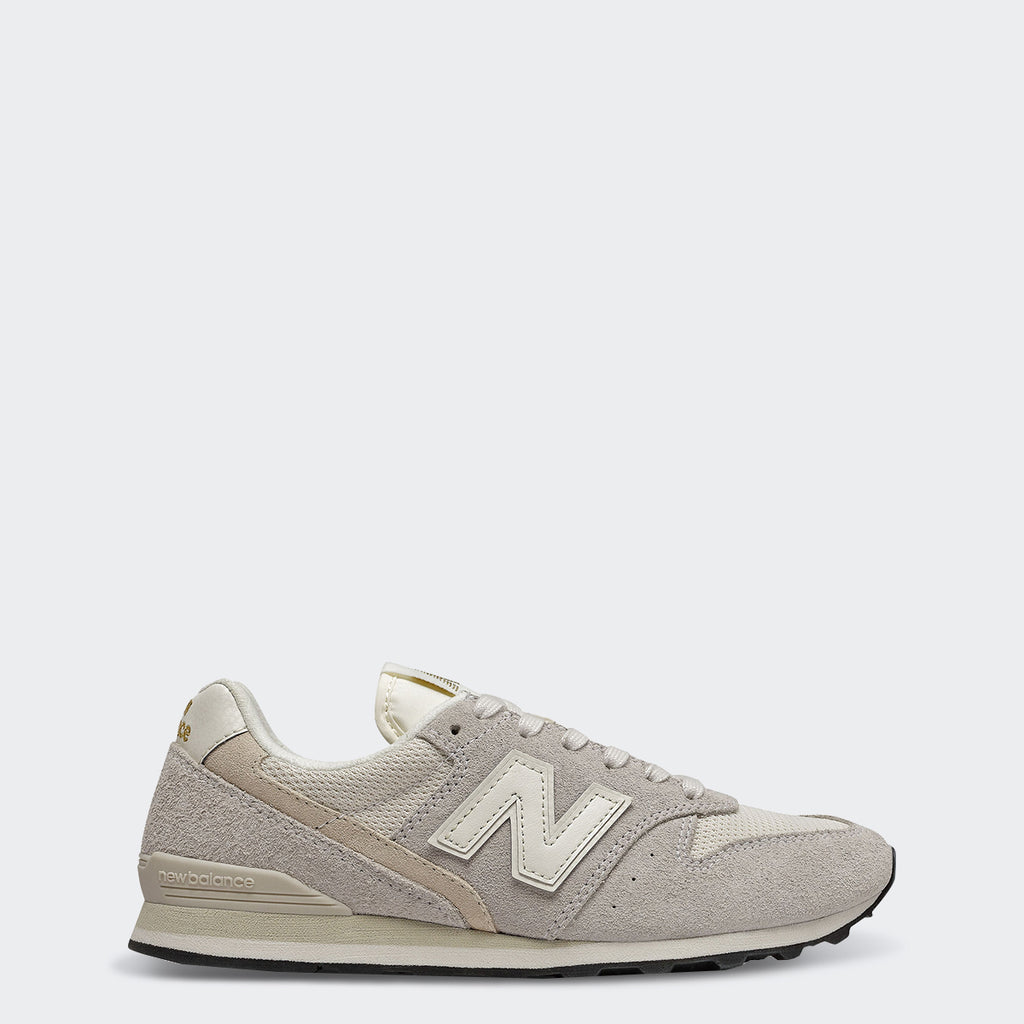 Women's New Balance 996 Shoes Angora | Chicago City Sports | side view