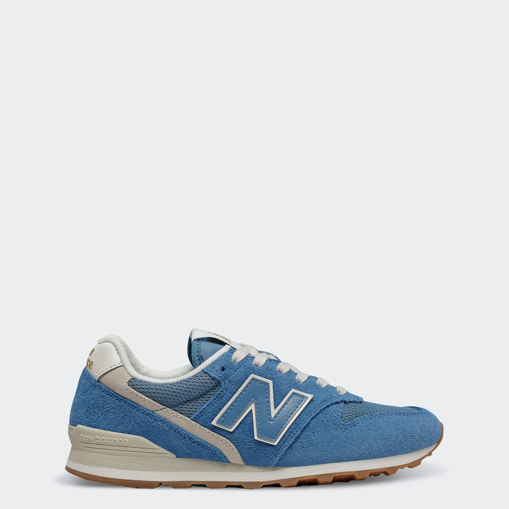 Women's New Balance 996 Shoes Parisian Blue