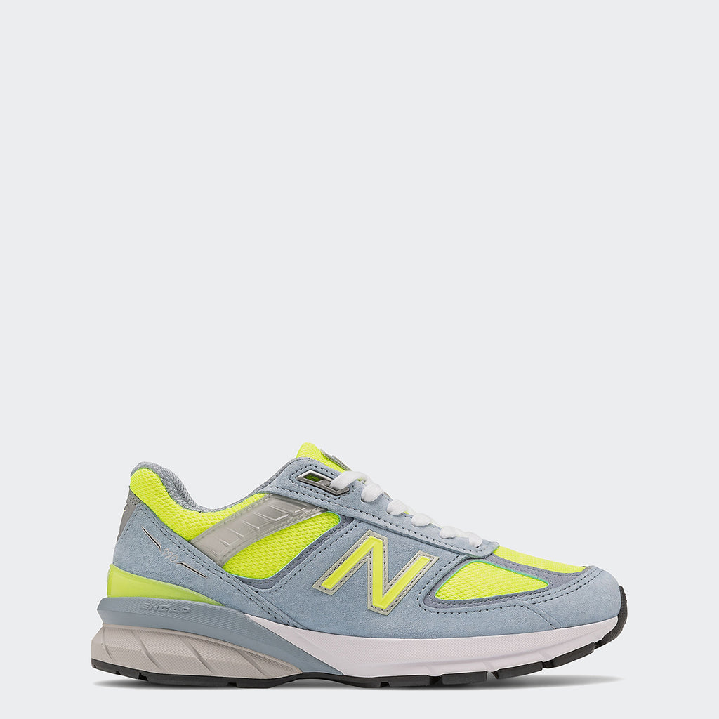 Women's New Balance 990v5 Grey Hi Lite