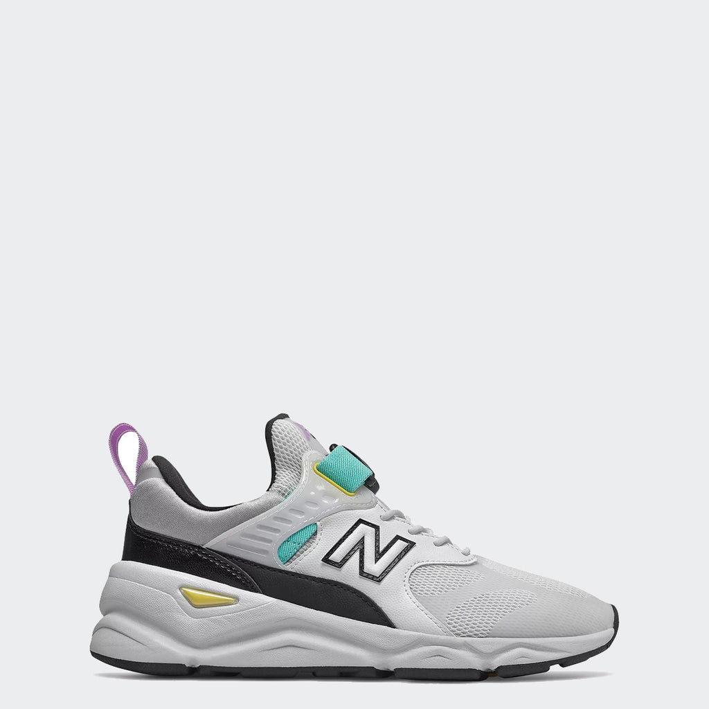Women's New Balance X-90 Shoes White Tidepool