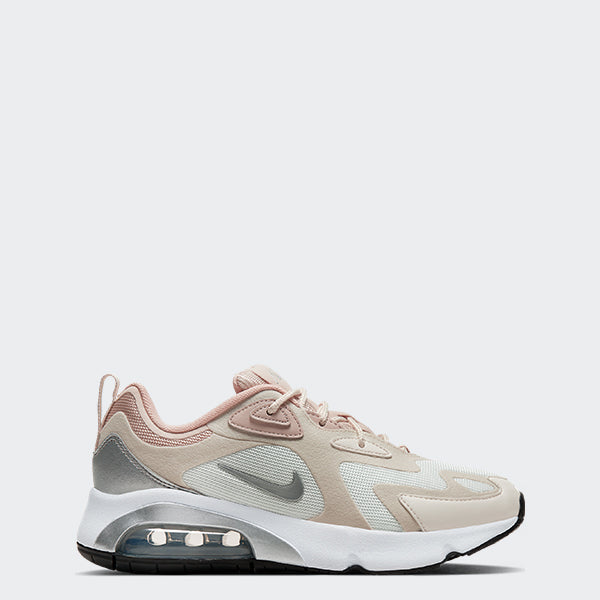 Women's Nike Air Max 200 Shoes Summit White (SKU CJ0629-102) | Chicago City Sports | side view