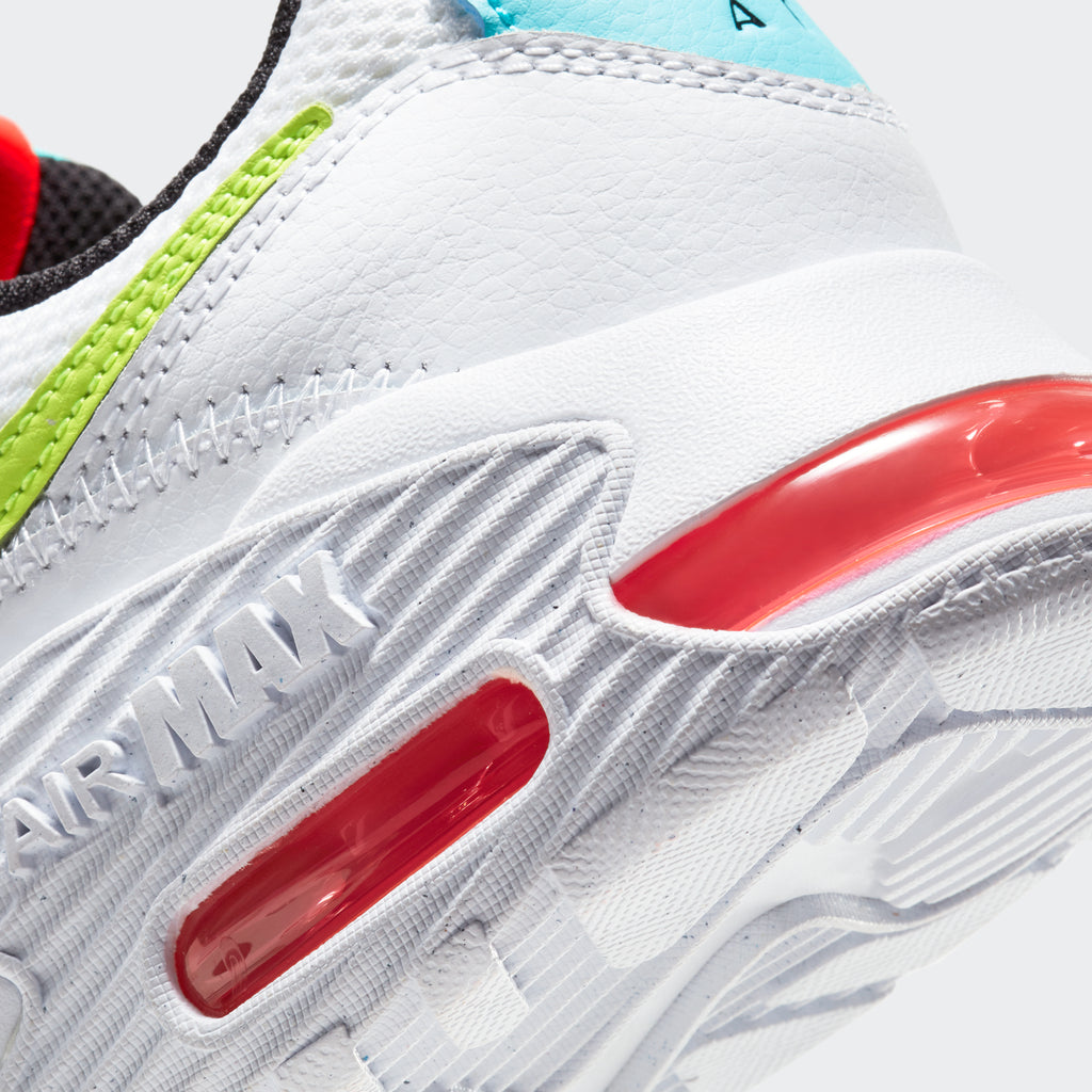 Women's Nike Air Max Excee Shoes White (SKU CW5606-100) | Chicago City Sports | detailed Air unit view
