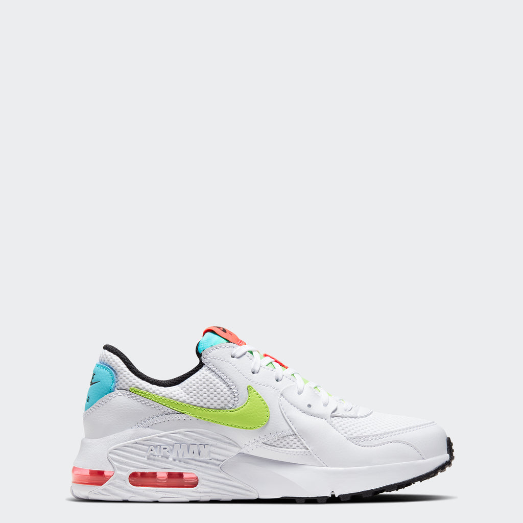 Women's Nike Air Max Excee Shoes White (SKU CW5606-100) | Chicago City Sports | side view