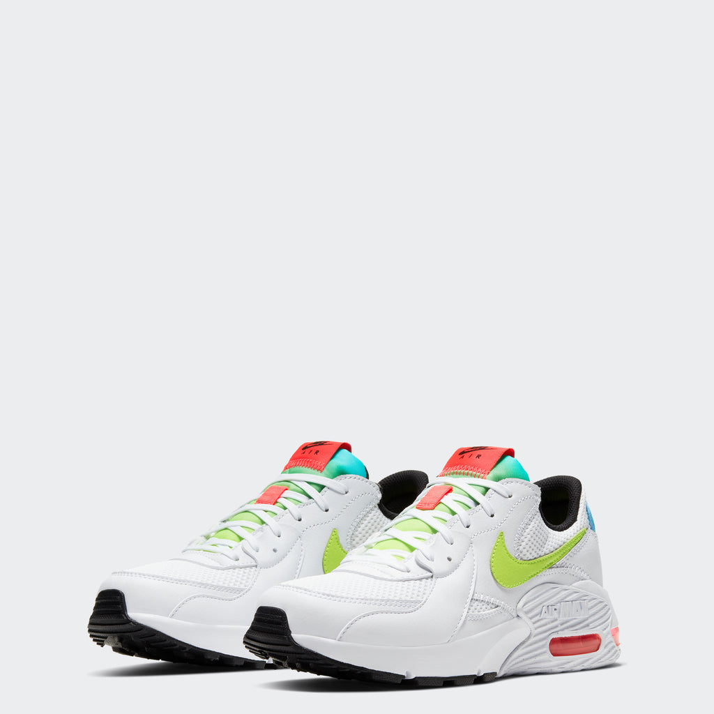 Women's Nike Air Max Excee Shoes White (SKU CW5606-100) | Chicago City Sports | front view