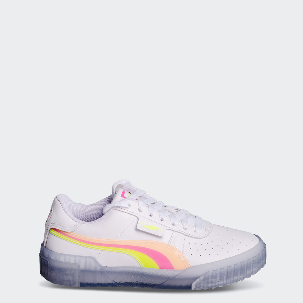 Women's PUMA Cali Neon Iced Shoes