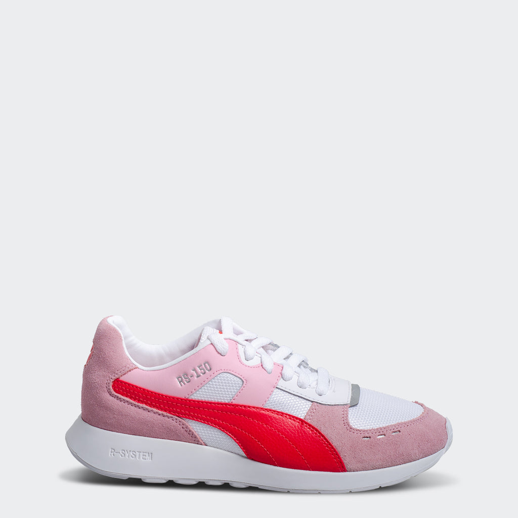 Women's PUMA RS-150 Mesh Sneakers Pale Pink