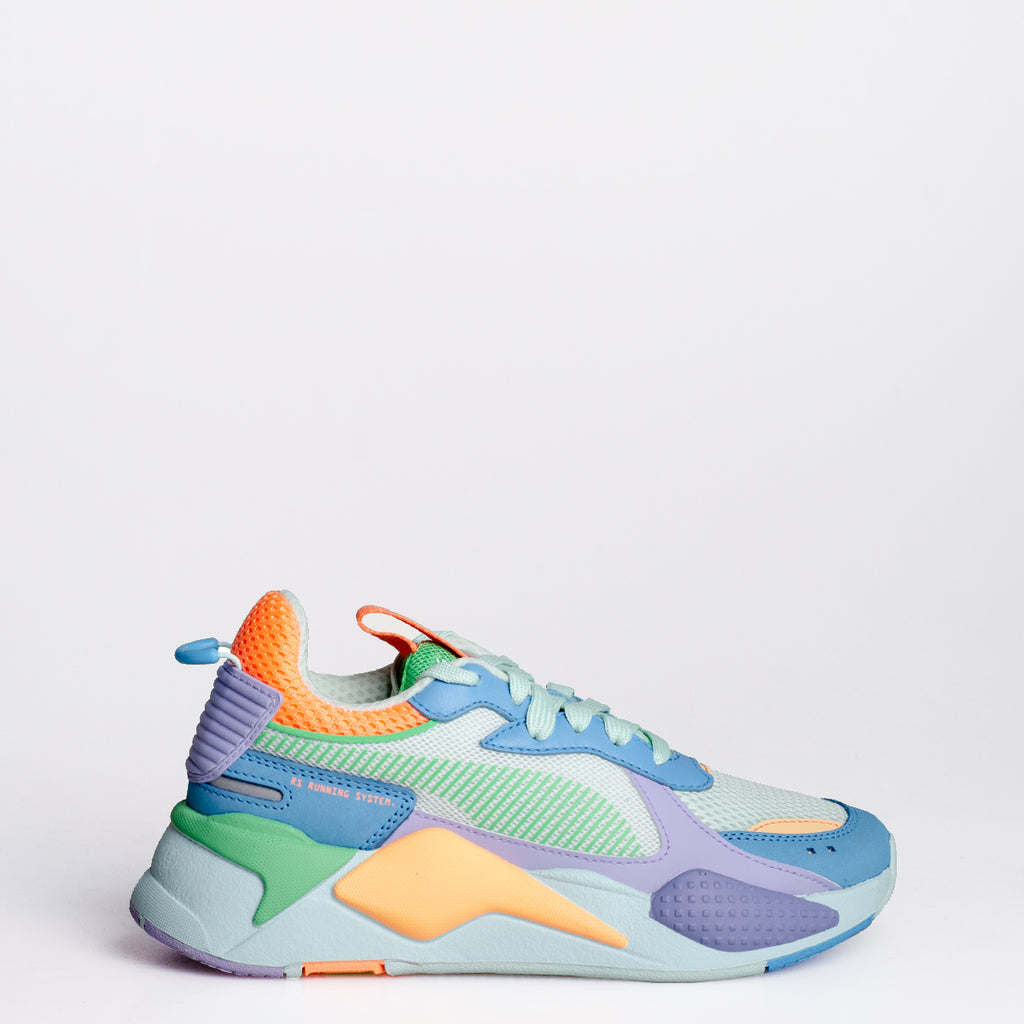 Women's PUMA RS-X Toys Sneakers Bonnie Blue and Sweet Lavender