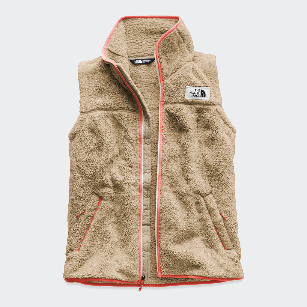 Women's The North Face Campshire Vest Dune Beige