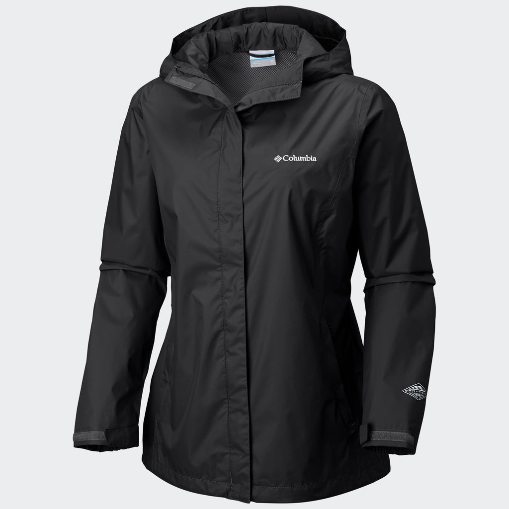 Women's Columbia Arcadia II Rain Jacket Black