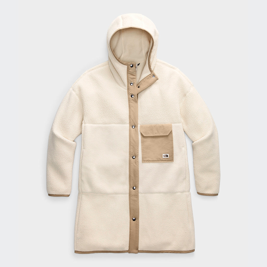Women's The North Face Cragmont Fleece Coat Bleached Sand