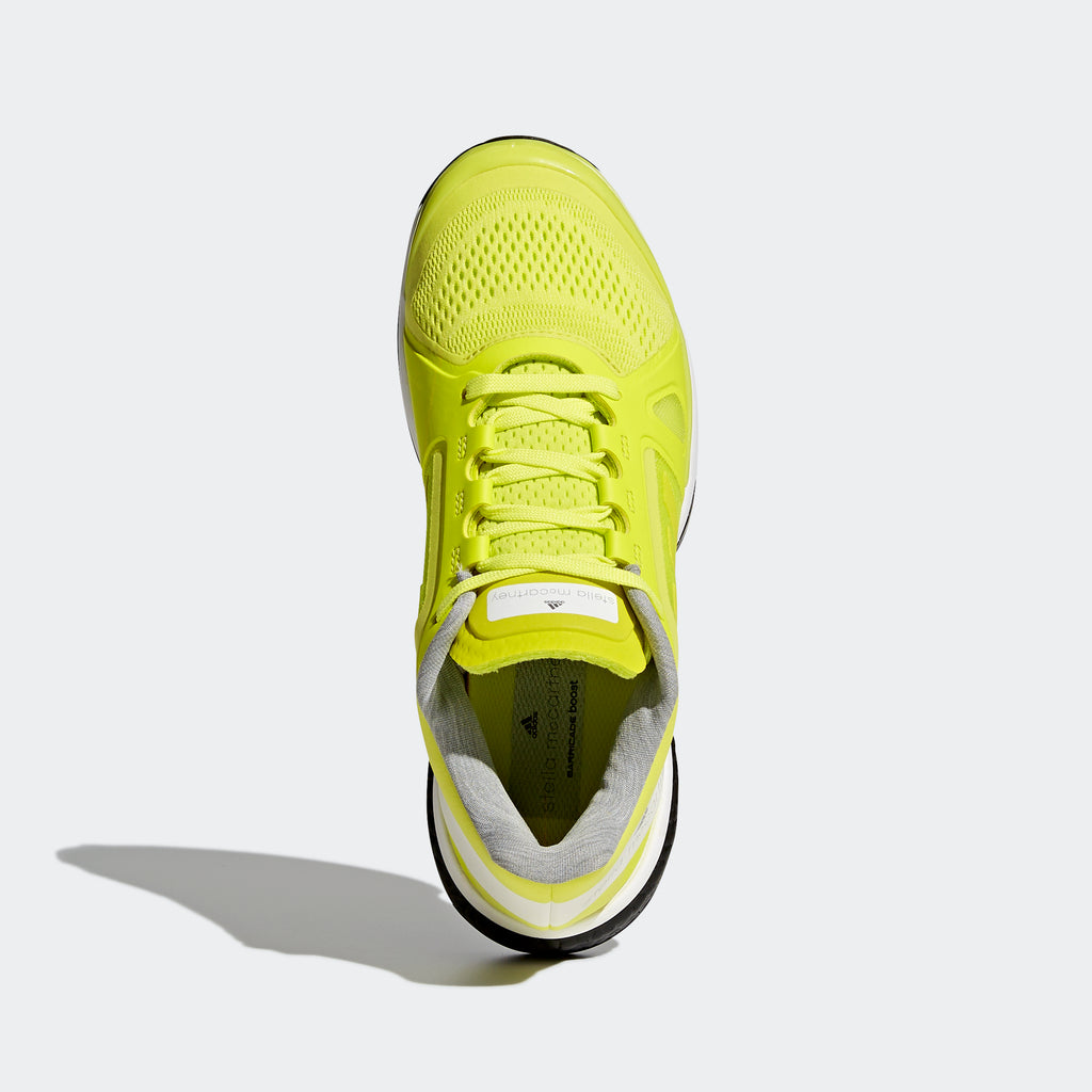 Women's Adidas By Stella McCartney Barricade Boost Shoes Aero Lime