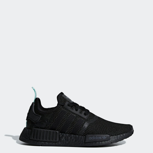 Women's Adidas NMD_R1 Shoes Black Clear Mint