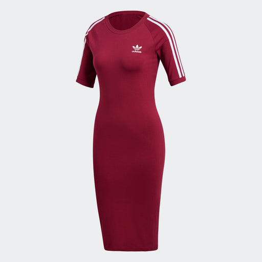 Women's Adidas Originals 3-Stripes Dress Mystery Ruby