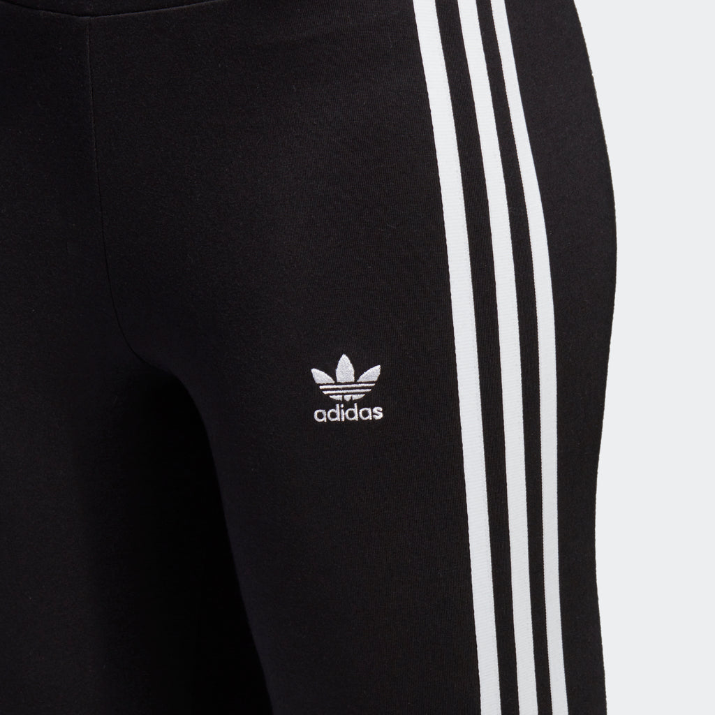 Women's adidas Originals 3-Stripes Leggings Black/ White
