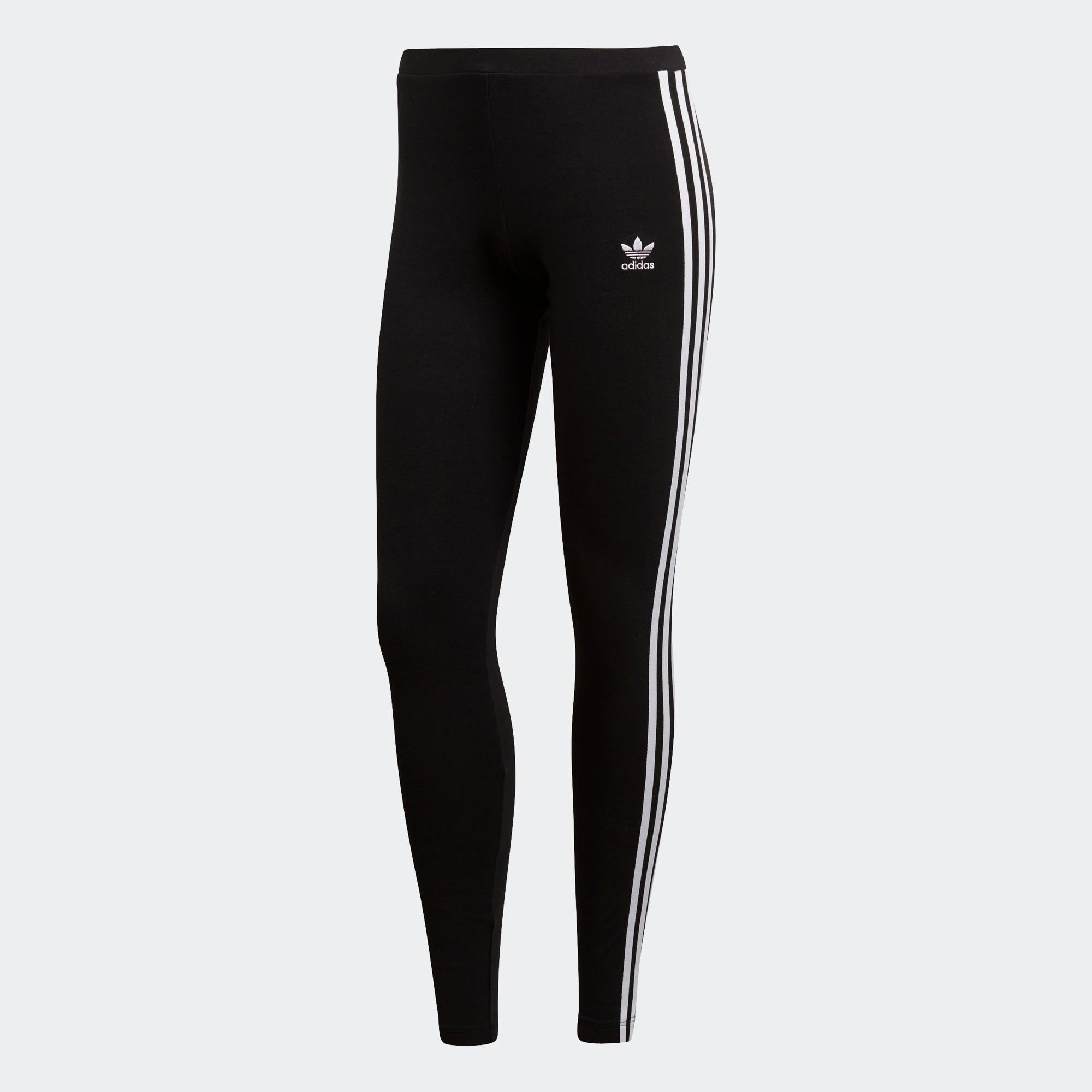 68e76ad0cf5b Women s adidas Originals 3-Stripes Leggings Black  White