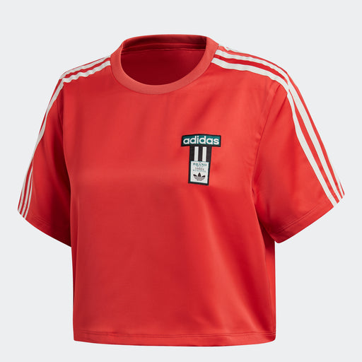 Women's Adidas Originals Adibreak Tee Amazon Red
