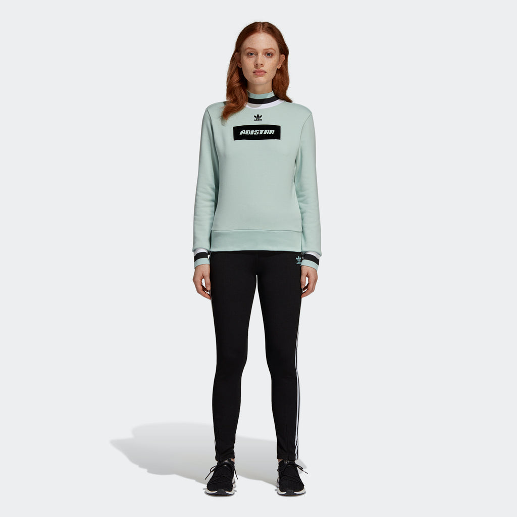 Women's adidas Originals Adistar Sweatshirt Ash Green