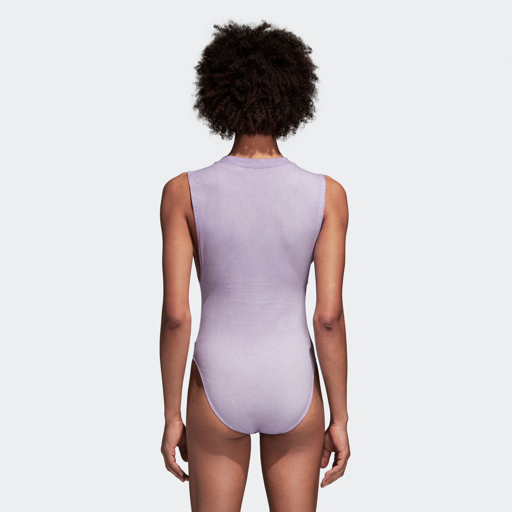 Women's adidas Originals Bodysuit Purple Glow