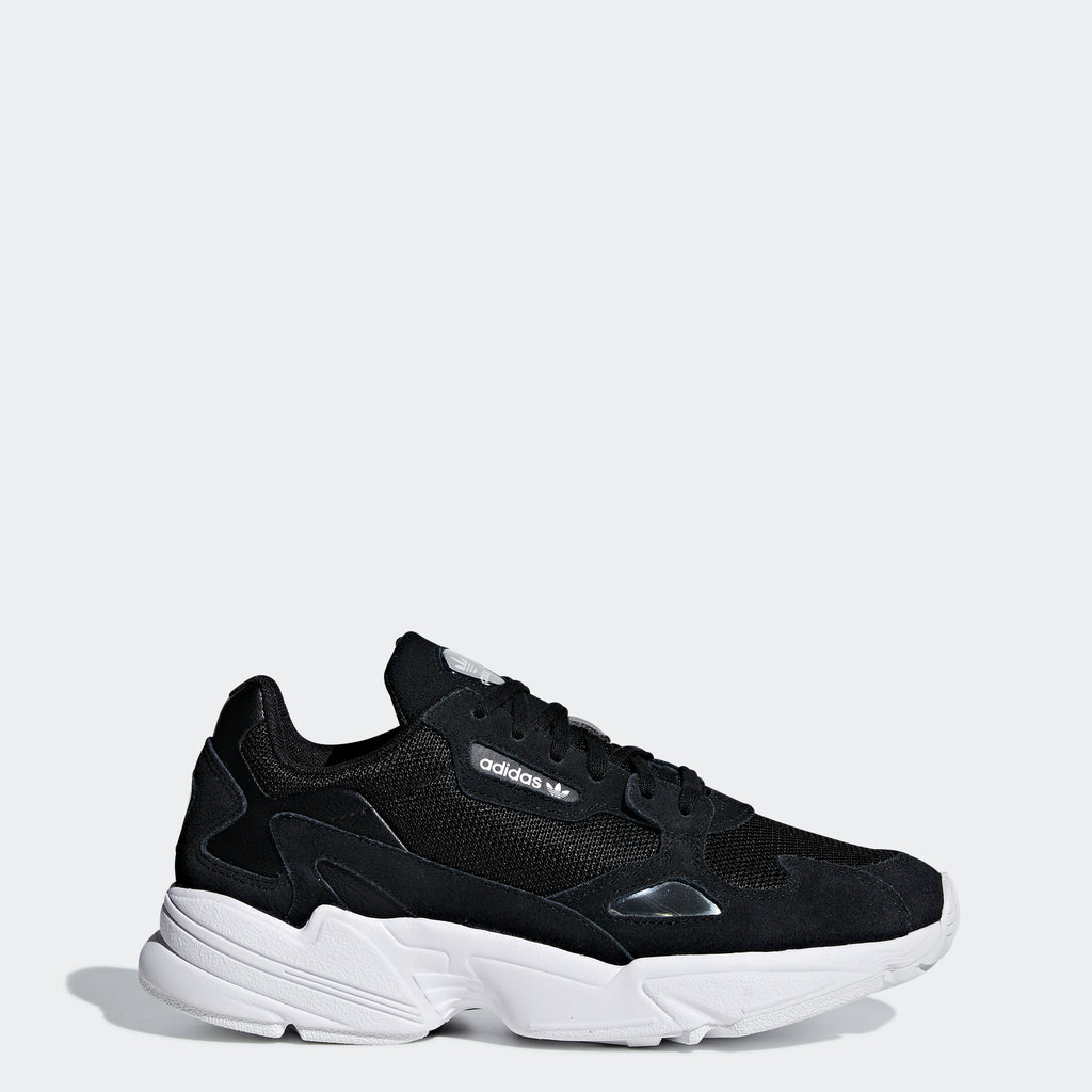 Women's adidas Originals Falcon Shoes Core Black