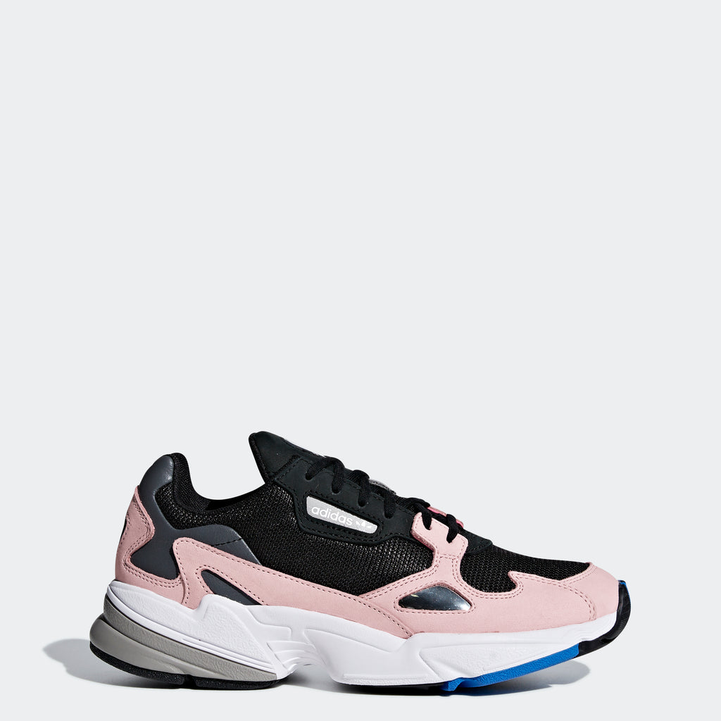 Women's adidas Originals Falcon Shoes Core Black Light Pink