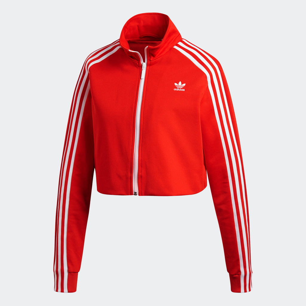 Women's adidas Originals Fashion Week Track Jacket Red