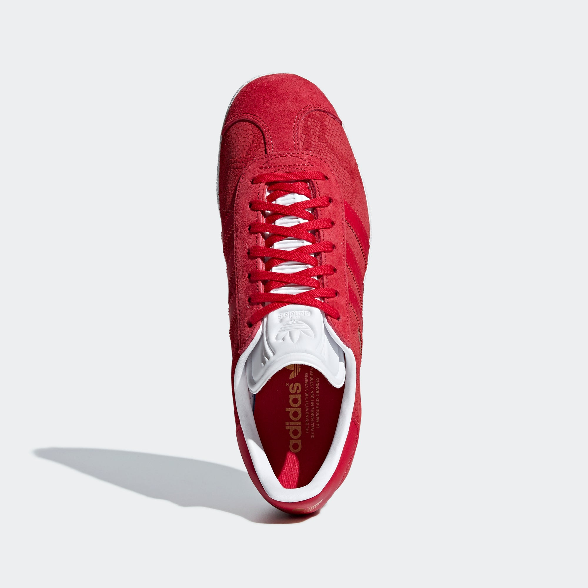 0a19bdd50784 Women s Adidas Originals Gazelle Shoes Bold Red B41656