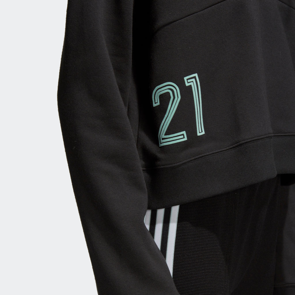 Women's adidas Originals Hooded Sweatshirt Black
