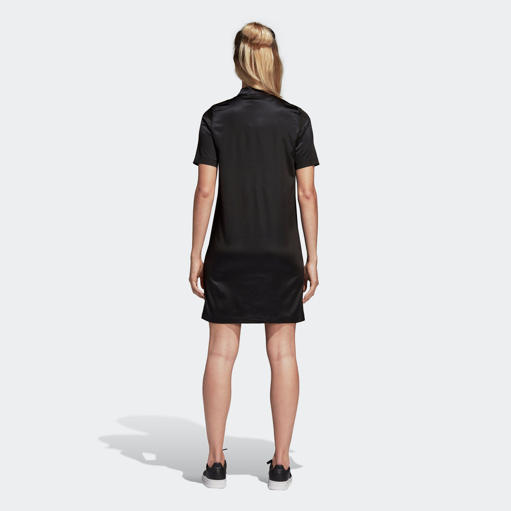 Women's adidas Originals Leoflage Tee Dress Black
