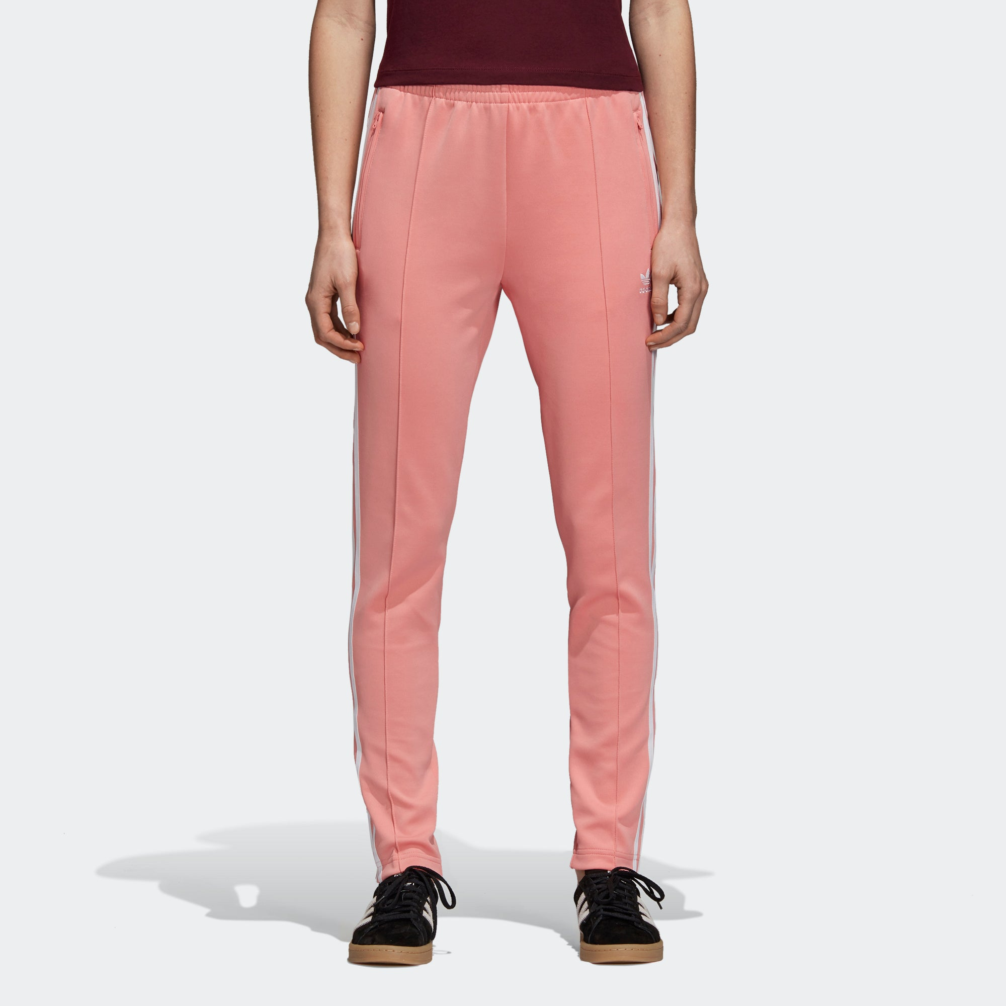 adidas SST Track Pants Tactile Rose DH3179 | Chicago City Sports