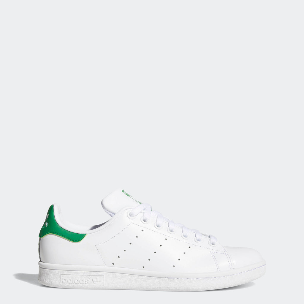 Women's adidas Originals Stan Smith Shoes Cloud White Green