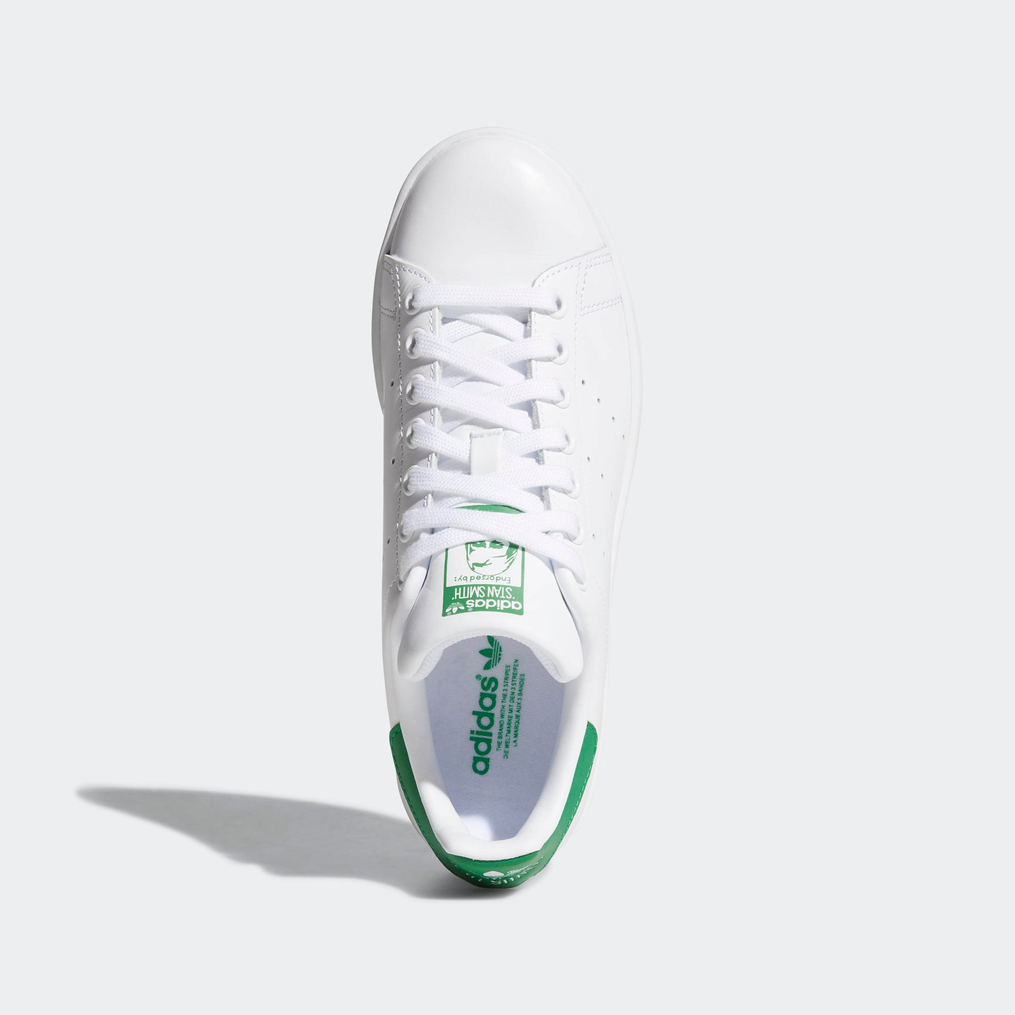 adidas Stan Smith Shoes White/Green B24105 | Chicago City Sports