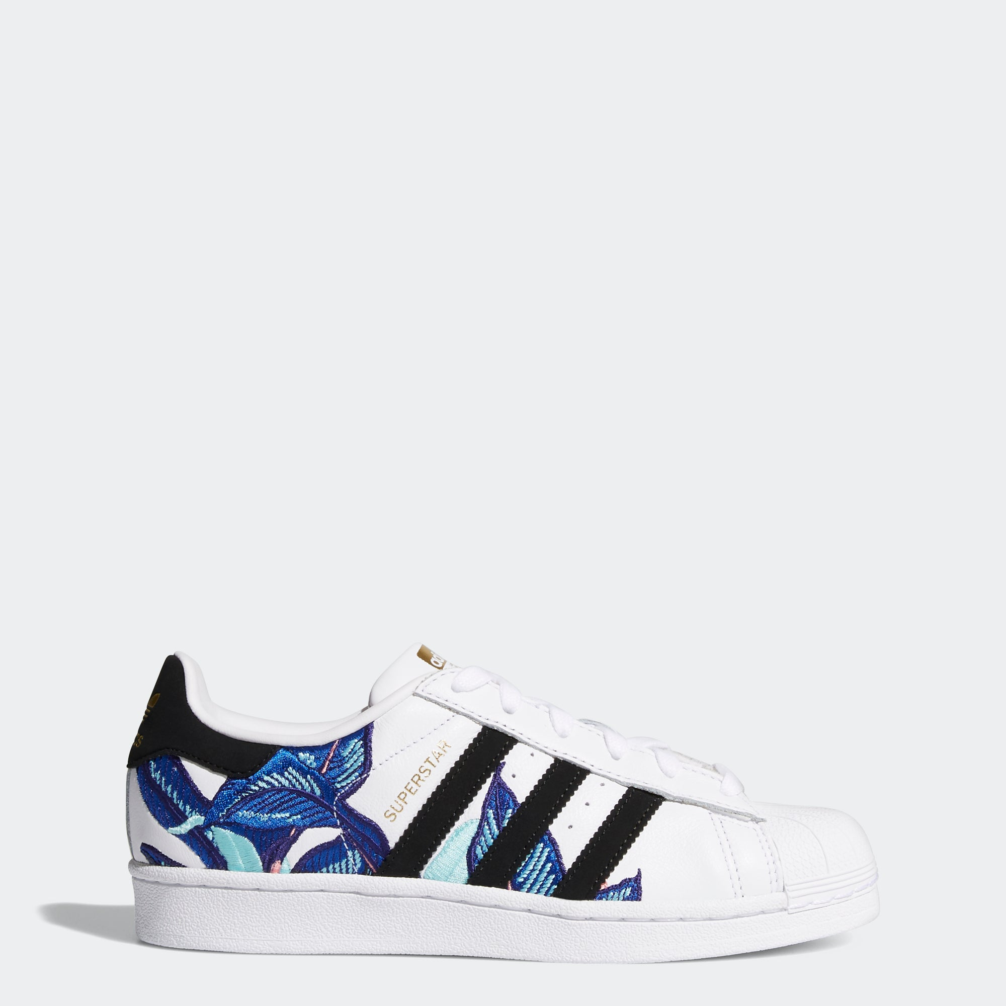 Women s Adidas Originals Superstar Shoes Cloud White Leafy B28014 ... d2790fa37
