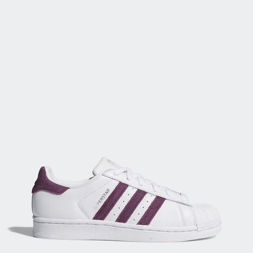 Women's Adidas Originals Superstar Shoes Cloud White Red Night