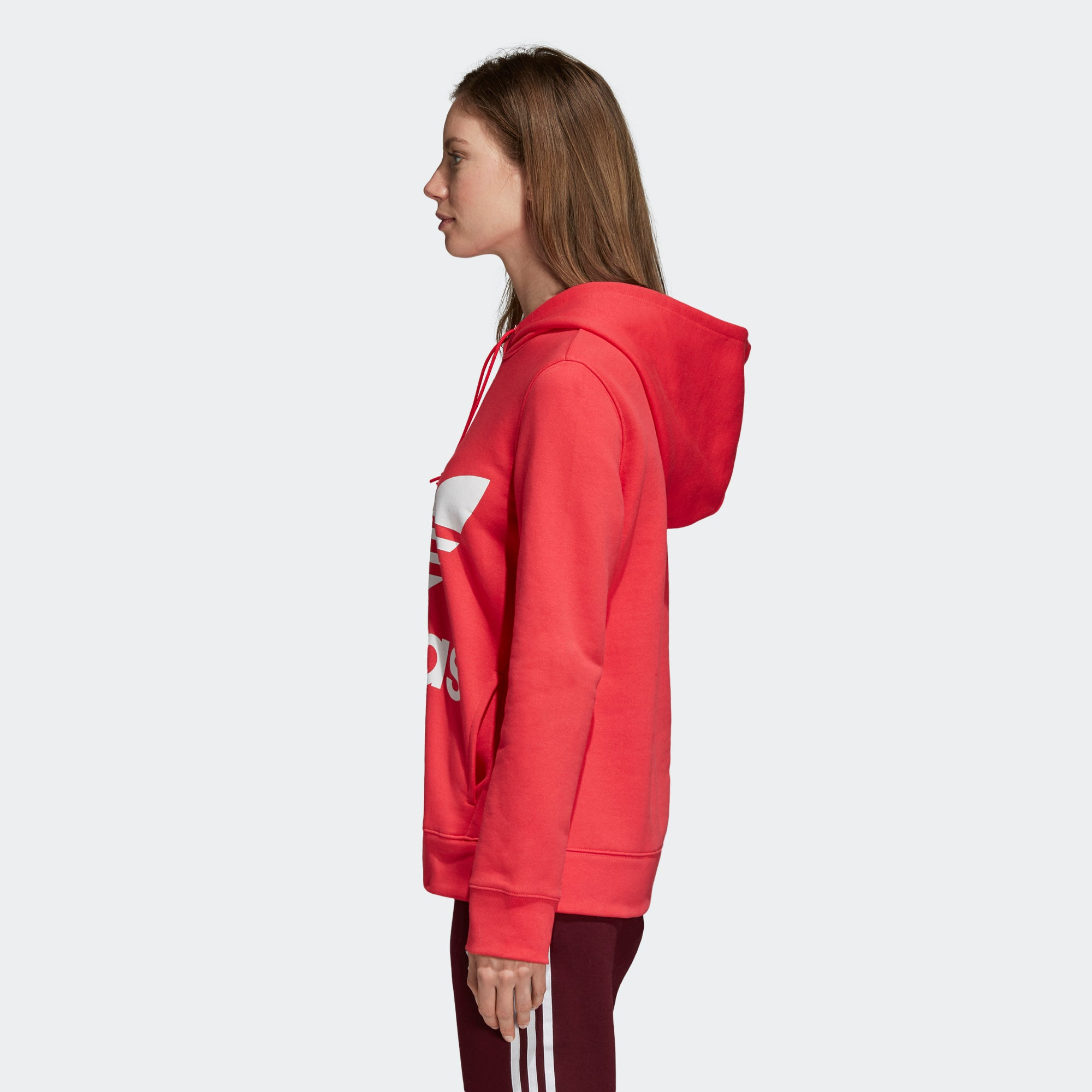 9230f51bee5d Women s adidas Originals Trefoil Hoodie Core Pink. 1