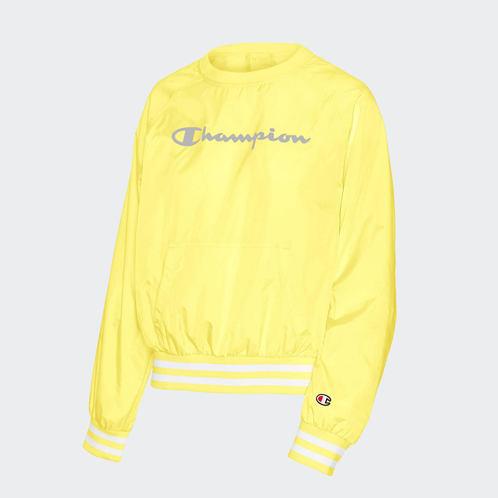 Women's Champion Life Ripstop Crew Yellow