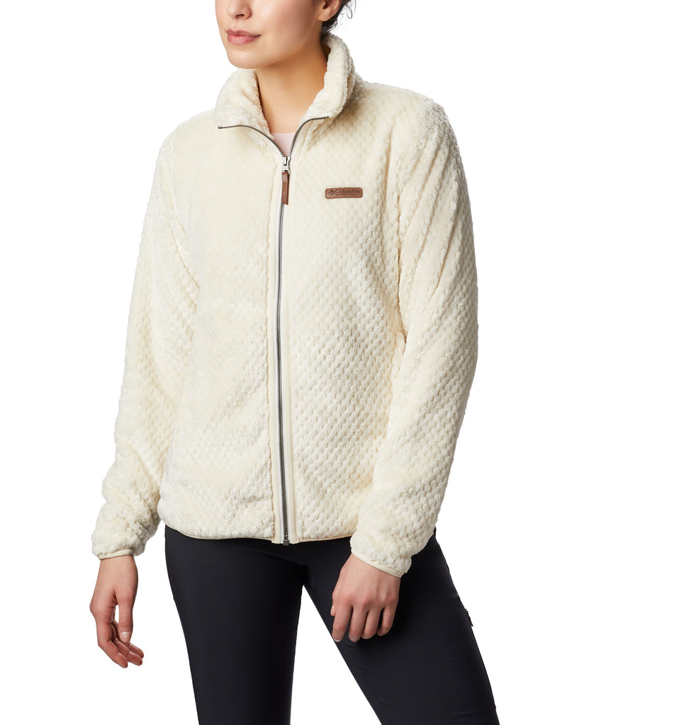Women's Columbia Fire Side™ II Sherpa FZ Fleece Chalk