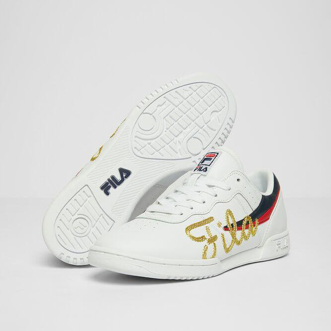 Women's FILA Original Fitness Signature 2 Shoes White