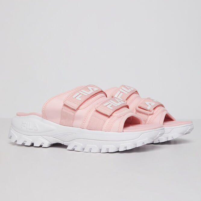 Women's FILA Outdoor Slides Pink