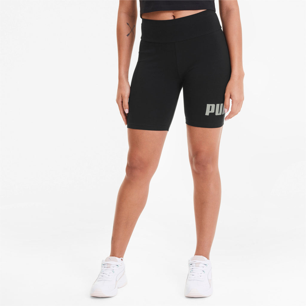 "Women's PUMA Essentials+ 7"" Biker Shorts Black"