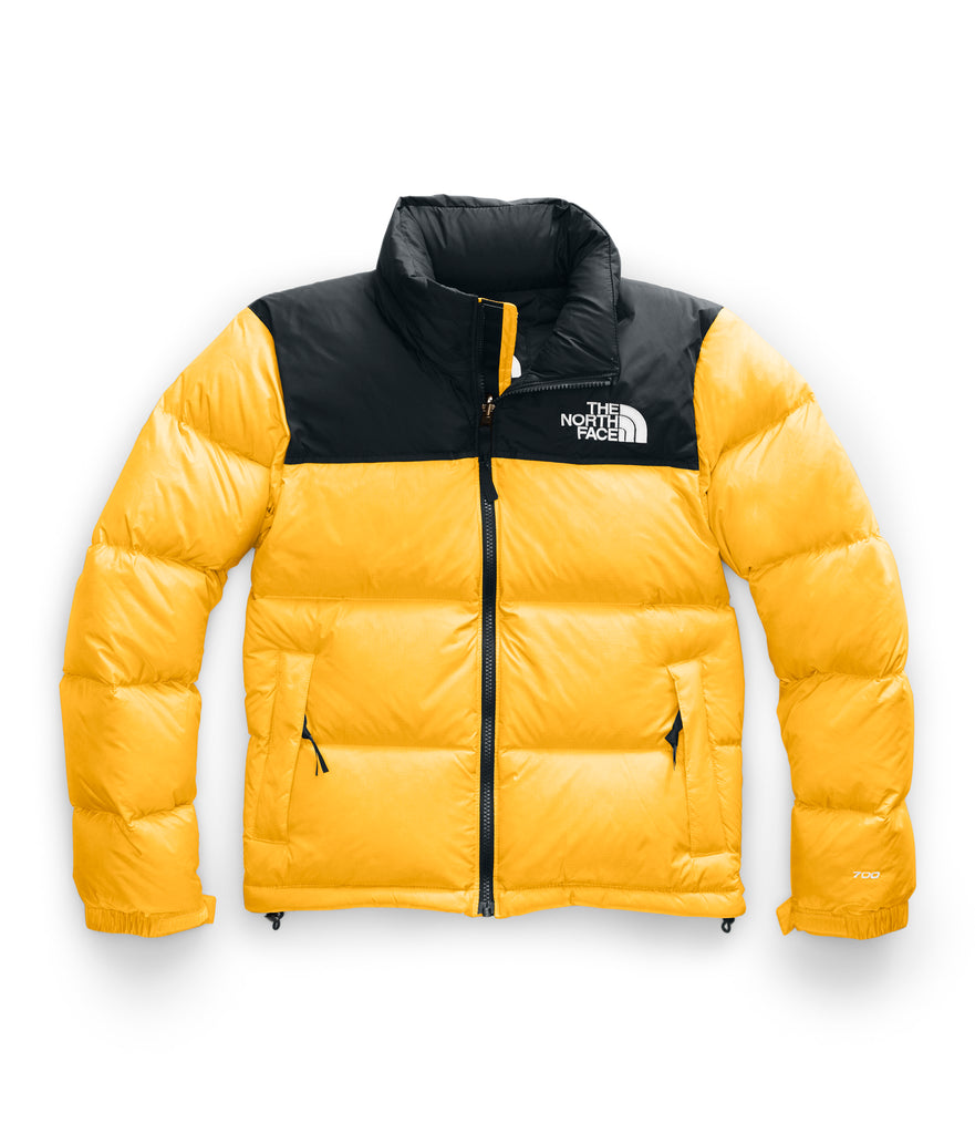Women's The North Face 1996 Retro Nuptse Jacket Yellow