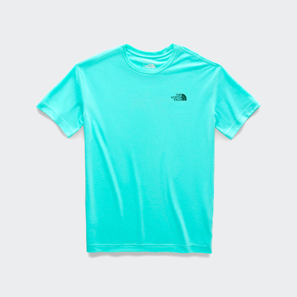 Women's The North Face Gradient Half Dome Tee Mint Blue Heather