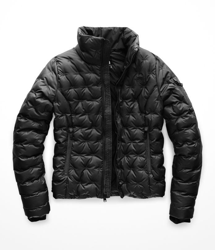 Women's The North Face Holladown Crop Jacket Black