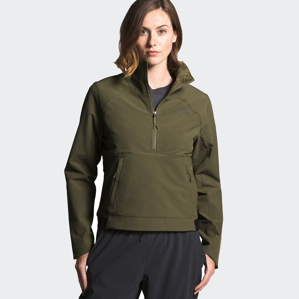 Women's The North Face Shelbe Raschel Pullover Olive