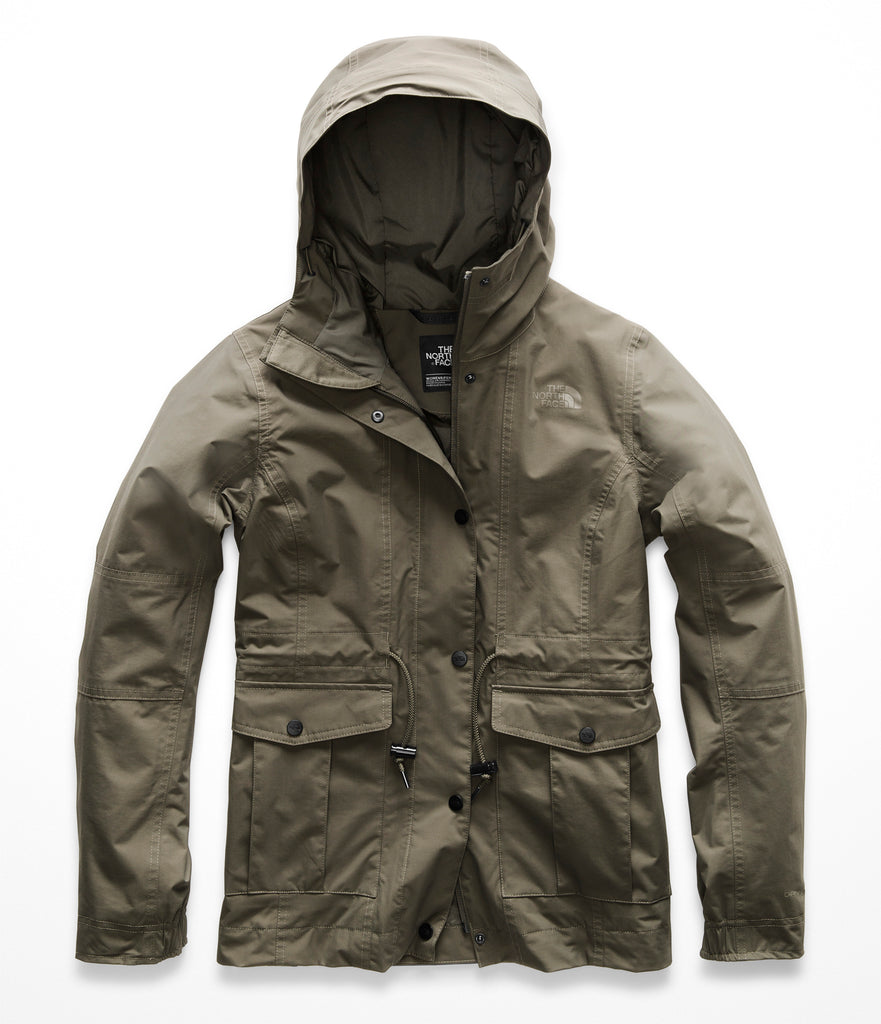 Women's The North Face Zoomie Jacket New Taupe Green