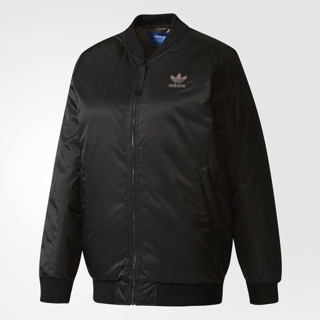 Women's adidas Originals Mid Bomber Padded Jacket Black