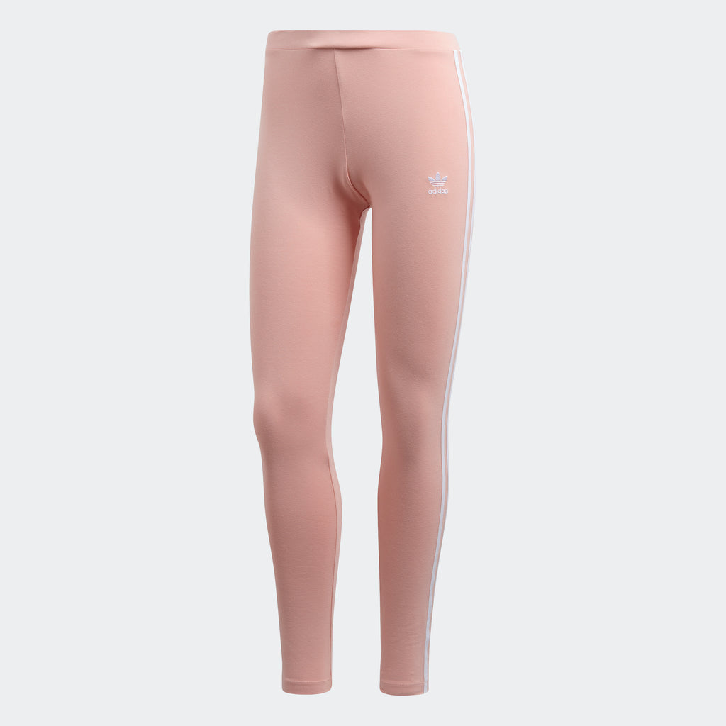 Women's adidas Originals 3-Stripes Leggings Dust Pink