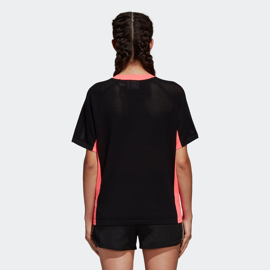 Women's adidas Originals AA-42 Knit Tee Black