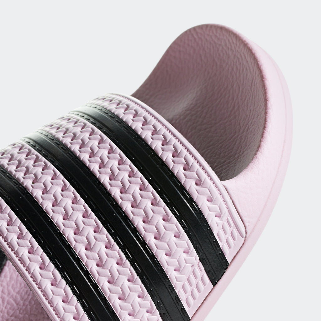 Women's adidas Originals Adilette Slides Clear Pink